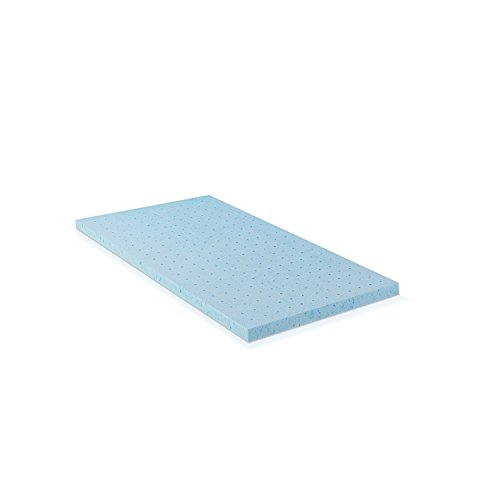 Furinno 2 inch HD Gel Infused Foam Mattress Topper Firm