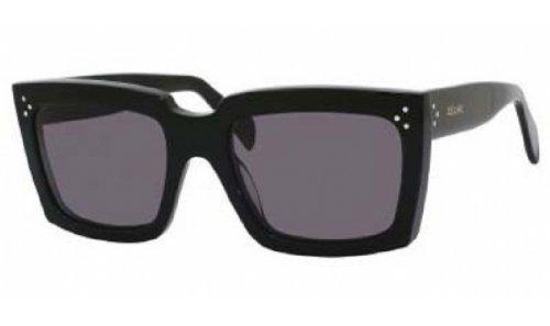 celine-sunglasses-41800-s-frame-black-lens-dark-grey