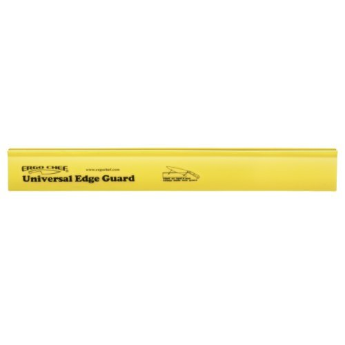 Ergo Chef Universal Knife Guard, Yellow Wide Edge, 12 Home & Kitchen