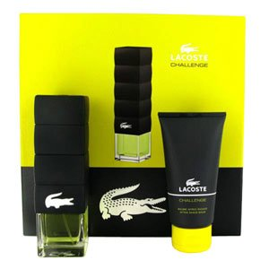 Lacoste Challenge For Men 2 Piece Gift Set