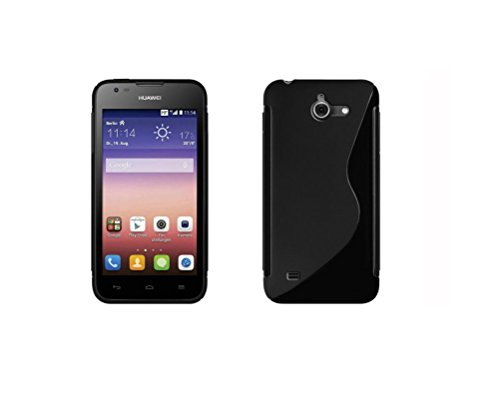 deetr-huawei-ascend-y550-s-line-black-flexible-soft-tpu-silicone-skin-slim-fit-case-cover-with-1-scr