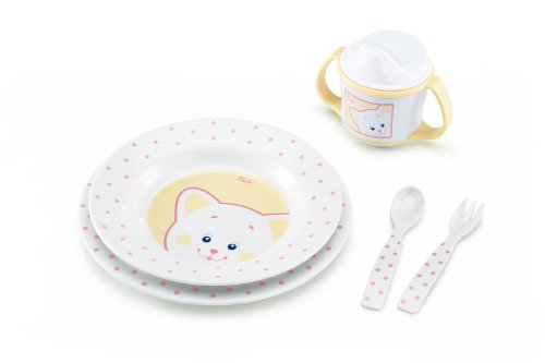 Trudi Bon Appetit Gift Set for Girls, Kitty - 1