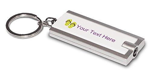 Vistaprint Pastel Flip Flops Keychain Flashlights front-1050359