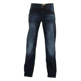 Soviet Winston Mens Jeans BLUE BLAST 28W S