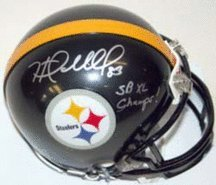 Heath Miller Autographed Pittsburgh Steelers Riddell Mini Helmet with