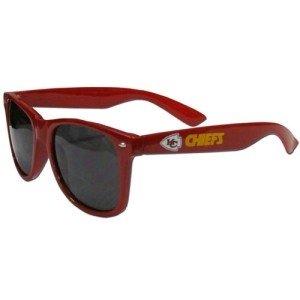 Kansas City Chiefs Sunglasses - Wayfarer by Hall of Fame Memorabilia