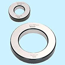 Mitutoyo 177-292 Setting Ring, 60mm Size, 20mm Width, 112mm Outside Diameter, +/-1.5Micrometer Accuracy