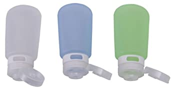 Humangear GoToob 3 Ounce 3 Pack Travel Bottle