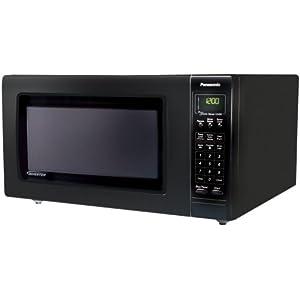Panasonic NN-H765BF Full-Size 1.6-Cubic-Feet 1250-Watt Microwave Oven, Black