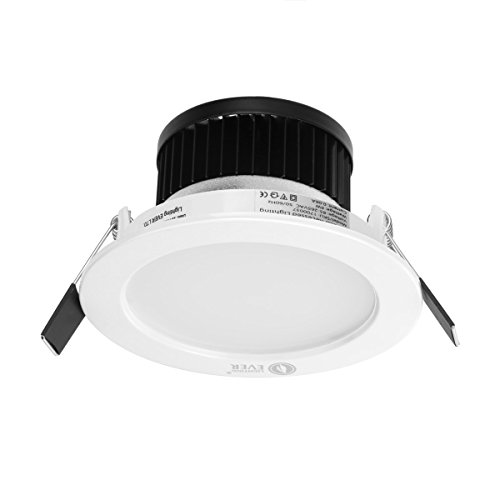 LE 6W 3.5-Inch LED Recessed Ceiling Lights, 50W
