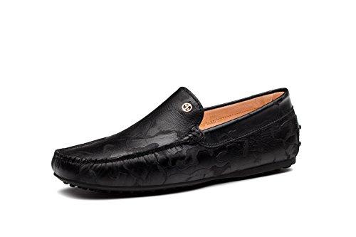OPP Mode Mocassins en Cuir Chaussures de Ville Basses Pour Hommes