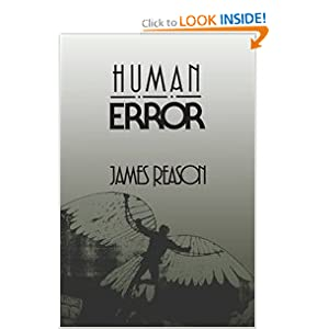 Amazon.com: Human Error (9780521314190): James Reason: Books