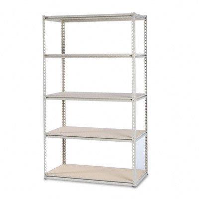 NEW Stur D Stor Shelving 5 Shelves 48w x 24d x 84h Sand LSS482484