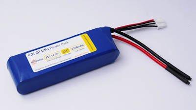 Hyperion G3 Cx 2100 Mah 2S 7.4V 25C/45C Lithium Polymer Battery