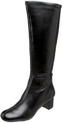 Rockport Mary Binding Boot Women's Knee High Boots Black (Nappa) K53917 3.5 UK