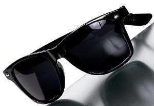 sa15 with large and small face effect classic Wellington UV-cut, dark black L limu cosplay sunglasses (db-l glc--)