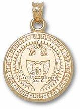 Georgia Tech Seal - 14K Gold by Logo Art