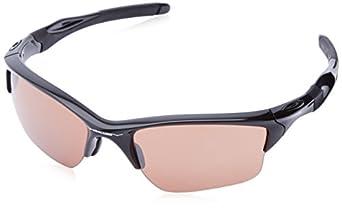 Oakley mens Half Jacket 2.0 Xl OO9154-28 Iridium Sport Sunglasses,Polished Black,55 mm
