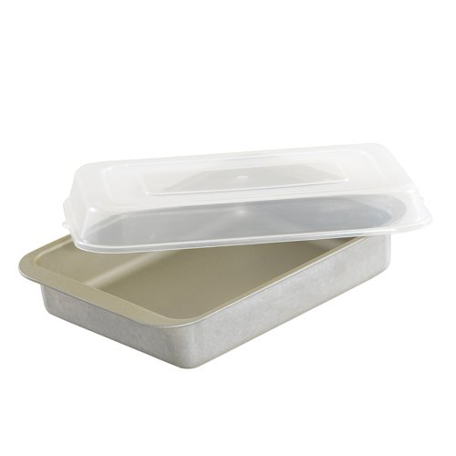Nordic Ware Compact Ovenware Covered Browine/Cake Pan