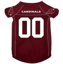 Arizona Cardinals NFL pet dog mesh jersey XS 4-9lbs