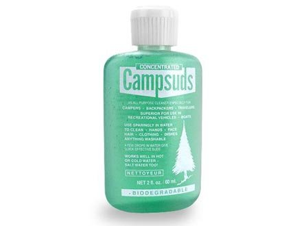 Two Pack of 2oz Campsuds Biodegradable Soap
