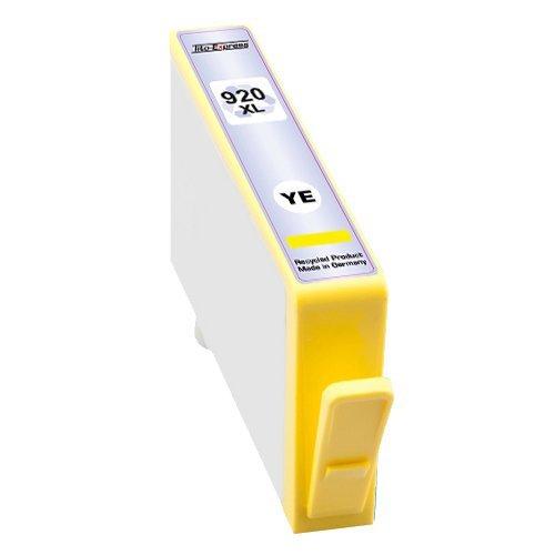 1x Druckerpatrone XXL mit Chip und Füllstandsanzeige kompatibel zu HP 920 XL Yellow für HP OfficeJet 6500,HP OfficeJet 6500 Wireless,HP OfficeJet 6000,HP OfficeJet 6000 Wireless,HP OfficeJet 7000,HP OfficeJet 7500 A Wireless,HP OfficeJet 7000 special Edition,HP OfficeJet 6500 A,HP OfficeJet 6500 A Plus,HP OfficeJet 7500 A,HP OfficeJet 6000 special Edition