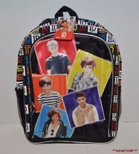 One Direction 16 Book Bag Backpack Niall Liam Louis Harry Zayn by Accessory Innovations