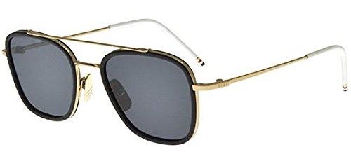 thom-browne-tb-800-gold-black-nd-metallo-uomo-12k-gold-black-grey-greengld-blk-51-20-140