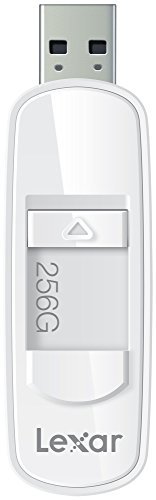Lexar Professional JumpDrive S75 256GB USB 3.0 Flash Drive - White