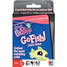 Littlest Pet Shop Go Fish Card Game Hasbro Playing Card - 1