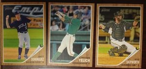 2011 Topps Heritage Minors Florida MARLINS Team Set 3 Cards MINT by Topps