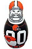 NFL Cleveland Browns Tackle Buddy Punching Bag, One Size, Brown