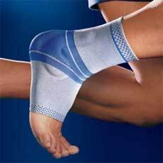 Bauerfeind Malleo Train Titanum Right Ankle Support Size 4