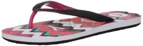 Roxy Women's Tahiti III Sandal,Pink Chevron Stripe,8 B US