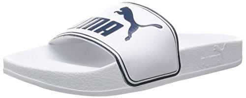 Puma - Ciabatte Leadcat - Ciabatte Uomo, Bianco (Weiß (white-blue wing teal 03)), 42 EU