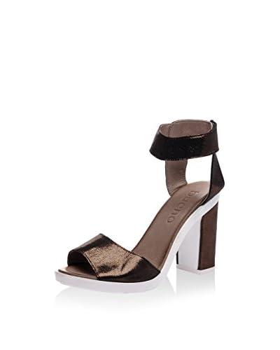 Bueno Sandalo Con Tacco [Nero]