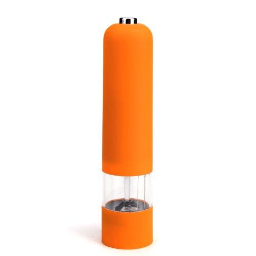 Orange Electric Pepper Mill Grinder Muller