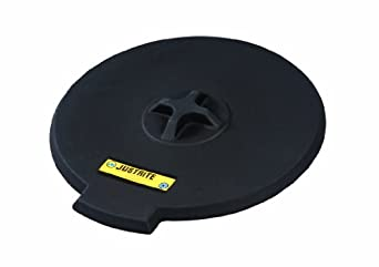 Justrite 28682 Black Polyethylene Spill Control Funnel Cover