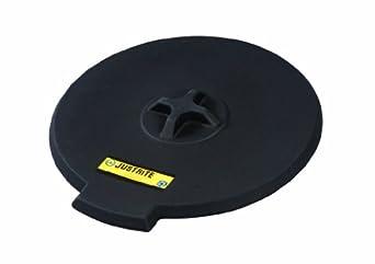 Justrite 28682 Black Polyethylene Spill Control Funnel Cover