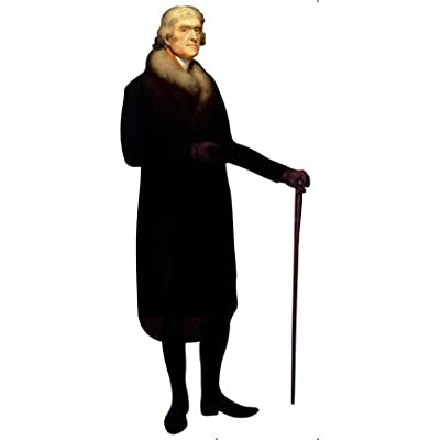 H25003 Thomas Jefferson 3 Cardboard Cutout Standup