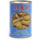 MOCK CHICKEN fried Gluten -- vegetarisches Huhn WU CHUNG 280g