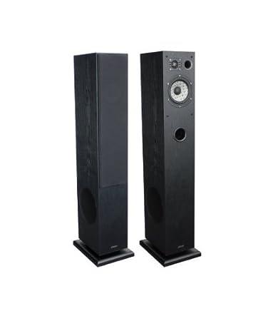 Advance Acoustic K5GLBK Paire d'enceintes colonne 3 voies Série Kubik Boomer 17 cm 100 W 90 dB 8 Ohms Noir laqué