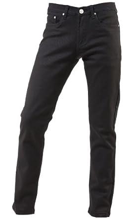 TNM Men's Super Skinny Jeans 24 Black