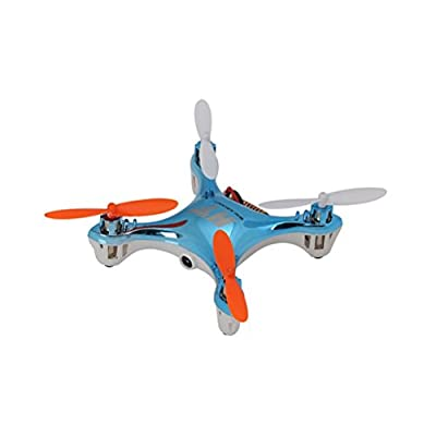 F803C-Pro 2.4GHz 4CH 6-Axis Gyro 360-degree Eversion Headless Mode Mini RC Quadcopter Drone UFO with Camera /LED Lights (Sky-blue)