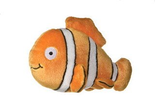 "Orange Clown Fish 8"" by Aurora"