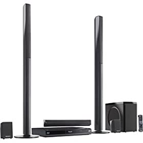 Panasonic SC-BTT750 5.1 Channel 3D Blu-Ray Cinema Surround Home Entertainment System (Black)