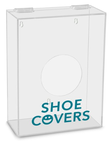 TrippNT 51316 Shoe Covers Labeled Small Apparel Dispenser, 9