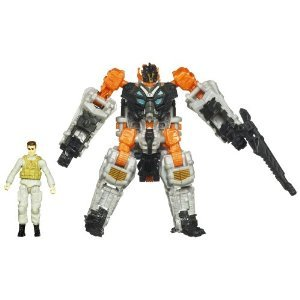 Transformers Dark of the Moon Mechtech Human Alliance Major Tungsten and Thunderhead