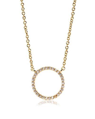 Chloe & Theodora Crystal Moon Necklace