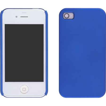 Wireless Solutions New Electric Blue Color Click Case For Apple Iphone 4 Verizon